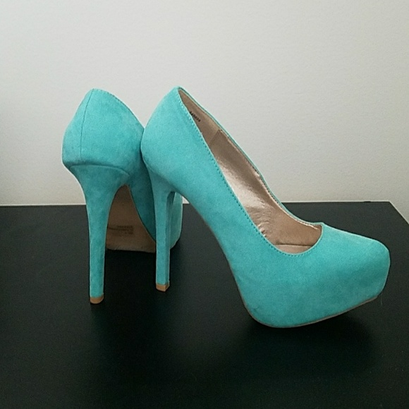 Charlotte russe shoes tiffany blue heels poshmark m5ace837f00450fd761a7788c junglespirit Image collections